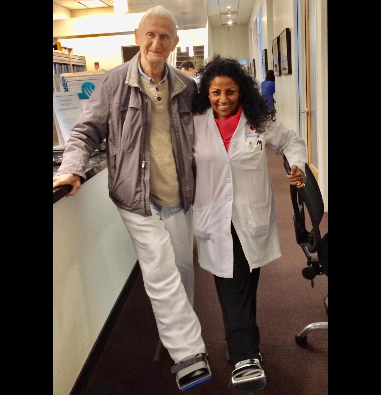 Sheila Kar with happy patient photo #3