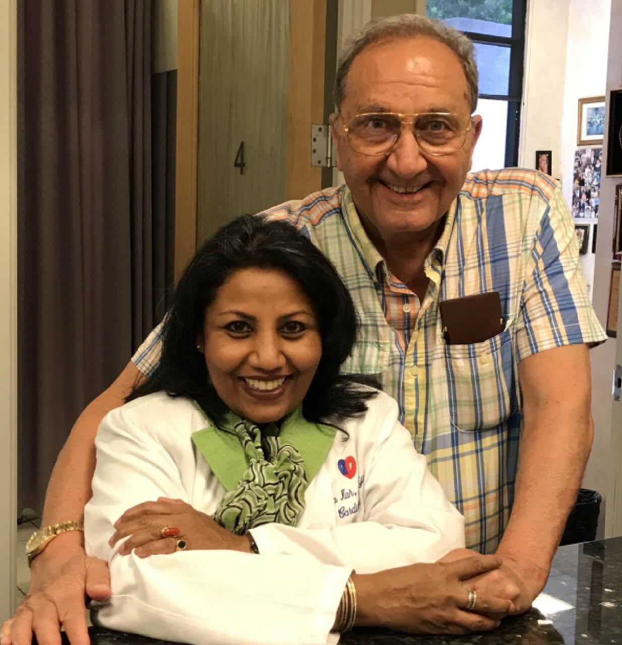 Sheila Kar with happy patient photo #2