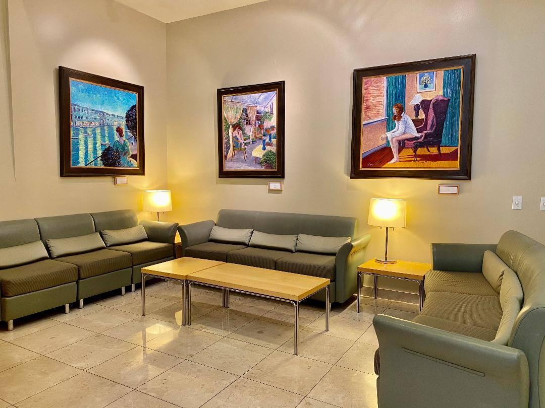 Sheila Kar Waiting room photo